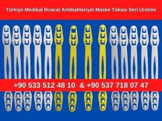 İhracata Uygun Maske Silikon Aparat Tokası Seri Üretim