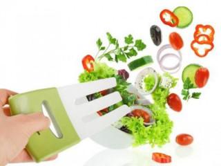 Salata Karıştırma ve Servis Kaşığı