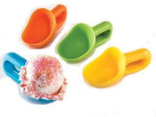 4 Adet Renkli Dondurma Kaşığı