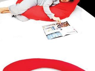 Kırmızı Hamile Uyku Yastığı