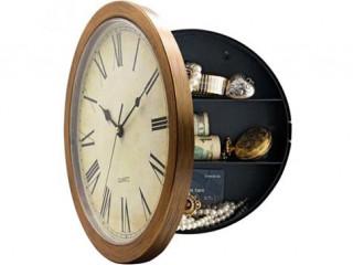 Gizli Kasa Duvar Saati (Wall Clock With Hidden Safe)