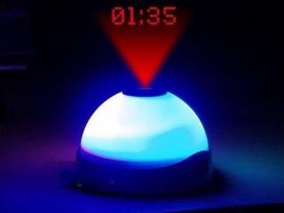 Renk Değiştiren Projeksiyonlu Alarm Saat