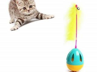 Işıklı Hacıyatmaz Kedi Oyuncağı