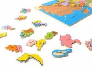 Türkiye Haritası Ahşap Puzzle