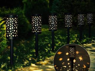 Solar Güneş Enerjili Bahçe Lambası 6lı Set