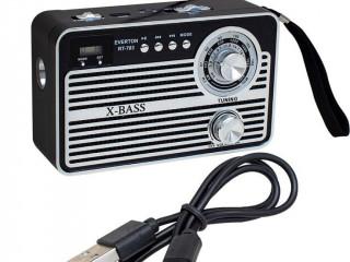 USB/SD/FM/AUX Destekli Nostaljik Radyo