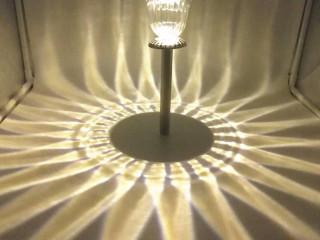 4 Lü Bronz Görünümlü Güneş Enerjili Solar Bahçe Lambası
