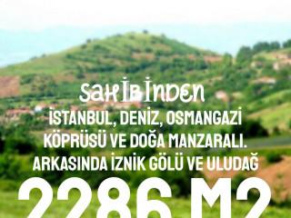 2286M2 İSTANBUL, DENİZ, KÖPRÜ VE DOĞA MANZARALI