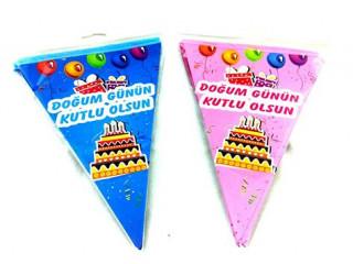 Doğum Günün Kutlu Olsun Flama Bayrak