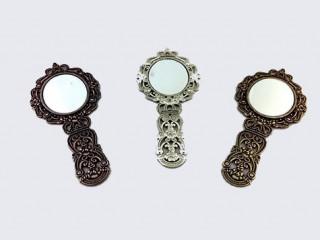 Metal Eskitme Ayna Nikah Şekeri Malzemesi