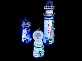 Renk Değiştiren Deniz Feneri Mumluk