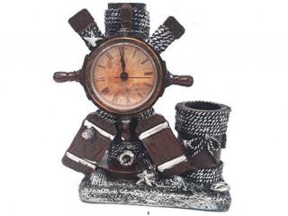 Dekoratif Masa Saati Kalemlik