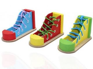 Ahşap Ayakkabı Tasarımlı Kalemlik