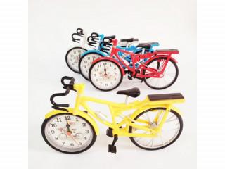 Dekoratif Renkli Bisiklet Saat