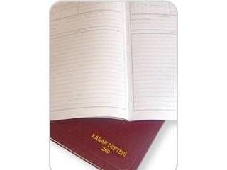 Dilman Karar Defteri Ciltli 192yp.