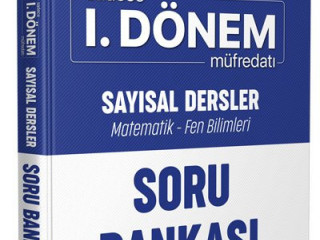 Editör LGS Eve Sığar Sadece 1.Dönem Sayısal Soru Bankası