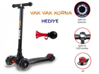 VOIT 218 MINI SCOOTER NEW - LED IŞIKLI - ZİLLİ