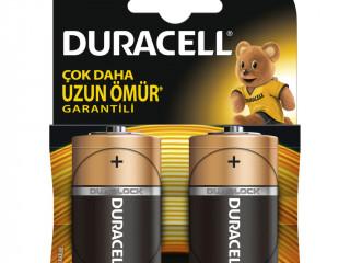 Duracell D Boy Büyük Pil 2 Li Kart