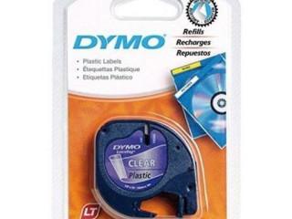 DYMO Letratag Şerit Plastik Şeffaf Etiket 12mm x 4m -721530
