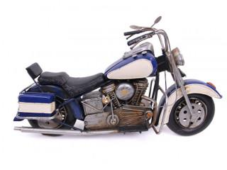 El Yapımı Metal Motosiklet Maketi