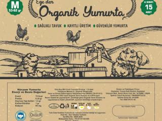 0 numara sertifikalı organik yumurta