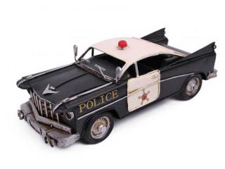El Yapımı Polis Arabası Maketi