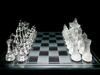 Cam Satranç Takımı