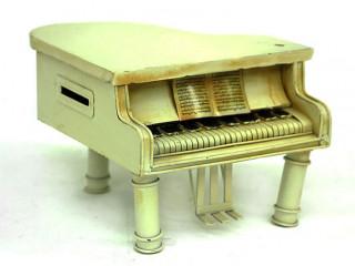 Dekoratif Piyano Kumbara El Yapımı