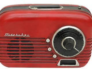 Radyo Tasarımlı Kumbara