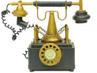 Nostalji Telefon Kumbara