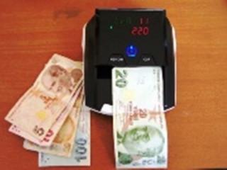 Sahte para Tespit Cihazı 5 Ülkeli (TL,€,$,£,CHF)