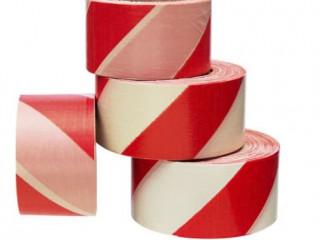 Kırmızı - Beyaz İkaz Bandı - Emniyet Şeridi 500 Metre