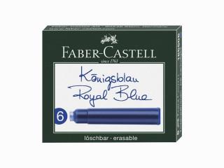 Faber Castell 6'lı Dolma Kalem Kartuşu Royal Blue