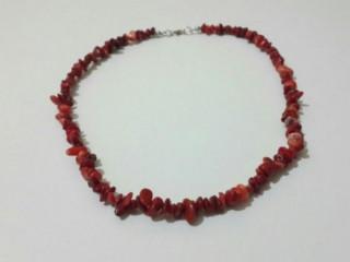 Kırmızı Mercan Kolye