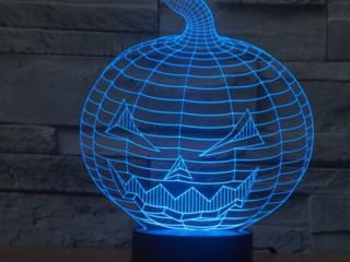 Bal Kabağı Şeklinde 3D Gece Lambası