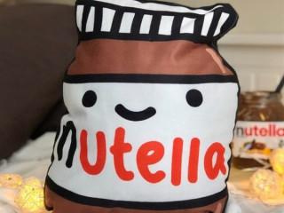 Nutella Tasarım Peluş Yastık