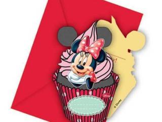 Minnie Doğum Günü Davetiyeleri