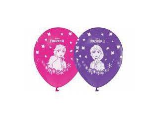 100 Adet Frozen Baskılı Balon