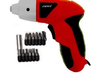 Jiming 4.8 Volt Şarjlı Tornavida Matkap Set
