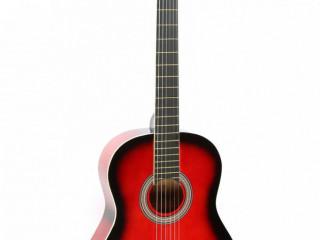 Victor Klasik Gitar Kırmızı Gün Batımı ve Taşıma Çantası