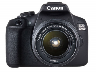 Canon EOS 2000D 18-55mm Siyah Dijital SLR Makine