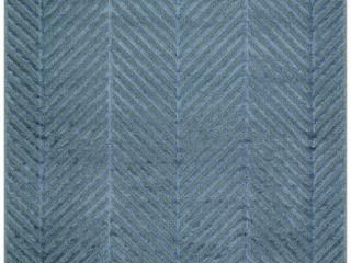 Eko Halı Zenith Dyed ZNT 04 Lacivert Naturel Yün ve Viskon Yumuşak Dokulu Dokuma Halı (200x290)