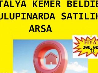 ANTALYA KEMER BELDİBİ ULUPINARDA SATILIK 250 M2 ARSA