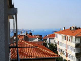 BEŞİKTAŞ YILDIZ ÇIRAĞAN'DA130m2 3+1 BOĞAZ MANZARALI FOR SALE للبيع
